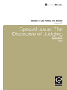 The Discourse of Judging (eBook): Special Issue